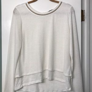 Sanctuary long sleeve light sweater top
